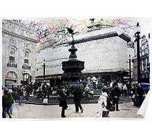 London VIII - Eros Statue Poster