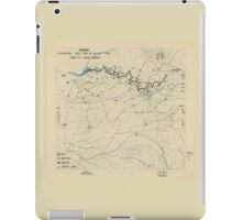 August 30 1944 World War II Twelfth Army Group Situation Map iPad Case/Skin