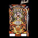 Kiss Pinball  by Alternative Art Steve