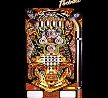 Kiss Pinball  by Alternative Art Steve