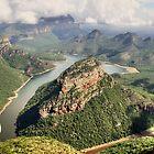 African Landscape Scene #4 by Kobus Olivier