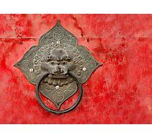 The Temple Door 3 Photographic Print