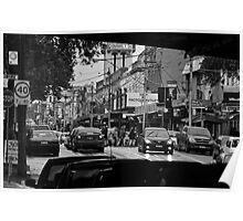 Swan Street, Richmond #1 Poster