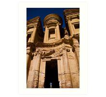Ad-Deir (Monastery), Petra Art Print