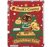 Tom Nook's Christmas Sale iPad Case/Skin