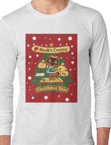 Tom Nook's Christmas Sale Long Sleeve T-Shirt