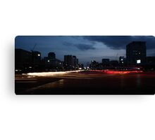 Seoul Rush Hour Canvas Print