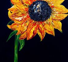 Sunflower Outburst by EloiseArt