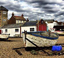 Aldeburgh Boats by Darren Burroughs