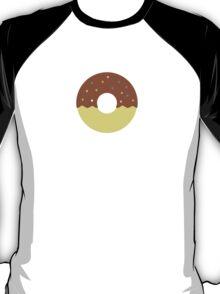 Chocolate Half Dip Donut T-Shirt