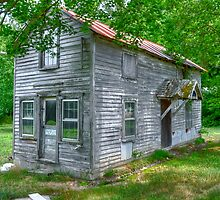 Old Skinny House by Monte Morton