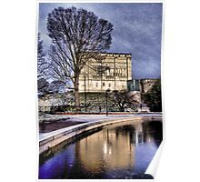 Norwich Castle Textured Poster