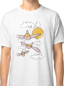 strange aeroplanes Classic T-Shirt