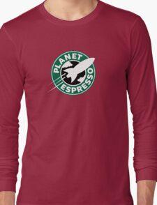 Planet Espresso Long Sleeve T-Shirt