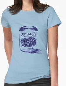 Abby Normal Womens Fitted T-Shirt