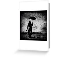 The Storm Around Me Greeting Card