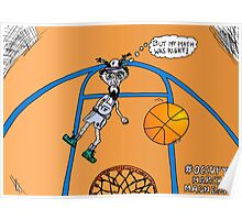 OccupyMarchMadness basketball cartoon Poster
