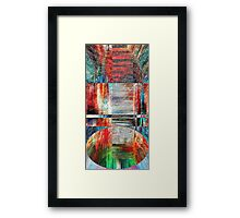 The smell of freedom Framed Print
