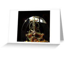 Clock Guts Greeting Card