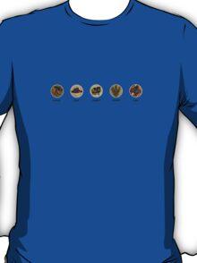 Wood, Clay, Sheep, Wheat, Ore. T-Shirt