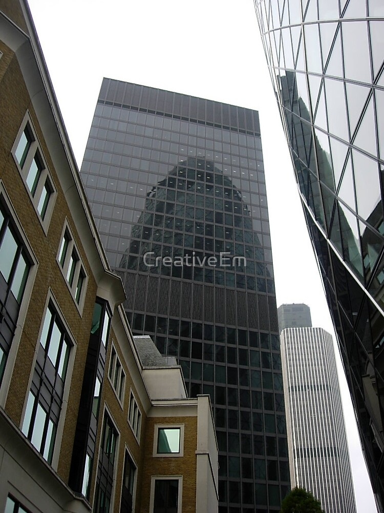 Reflected Gherkin by CreativeEm