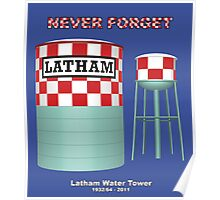 Latham Water Tower Poster