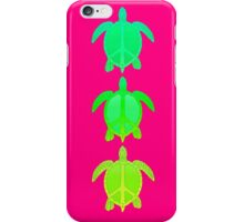 Peace Turtles iPhone Case/Skin