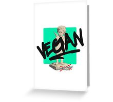 I DON'T EAT MEAT! Greeting Card