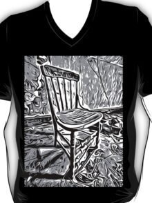 Old chair in abandoned house T-Shirt
