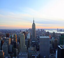 new york empire state building by frenchphoto