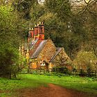 Cottage in the woods by SimplyScene