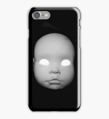Creepy Doll Head iphone iPhone Case/Skin