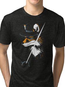 El Zorro Tri-blend T-Shirt
