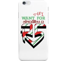 All I Want For Christmas Is R5 iPhone Case/Skin