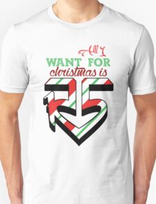 All I Want For Christmas Is R5 Unisex T-Shirt