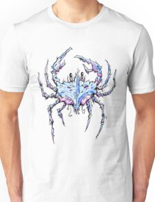 Blue and Purple Crab Unisex T-Shirt