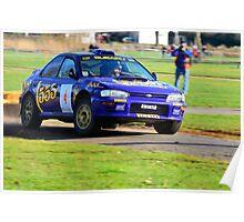 1996 Subaru Impreza Poster