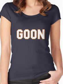 Doug Glatt Hockey Shirt - Goon!! Women's Fitted Scoop T-Shirt