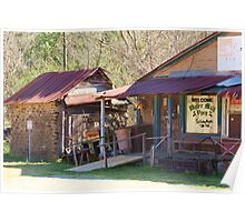 Old Country General Store Poster