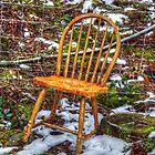 Old Forgotten Chair by jorafc
