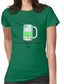 St Patricks Day 2012  Womens Fitted T-Shirt