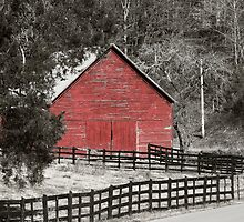 The Red Barn by XxJasonMichaelx