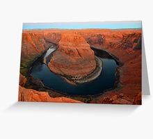 Horseshoe Bend Arizona  Greeting Card