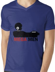Mega Men Mens V-Neck T-Shirt