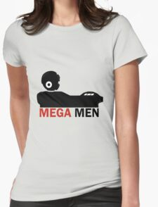 Mega Men Womens Fitted T-Shirt