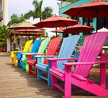 Fort Myers Beach Chairs by XxJasonMichaelx