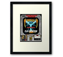 Flux Capacitor 88MPH to the future  Framed Print