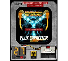 Flux Capacitor 88MPH to the future  Photographic Print