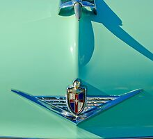 1954 Lincoln Capri Hood Ornament by Jill Reger