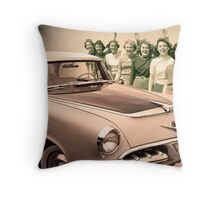 Seven Girlfriends and a Dodge Throw Pillow